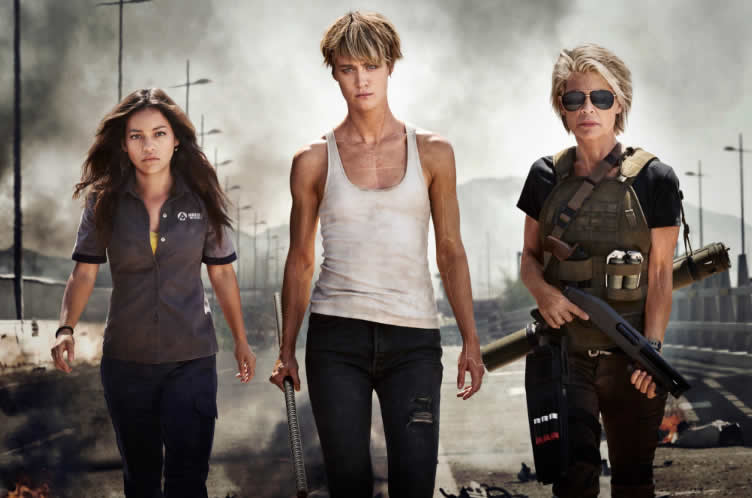 Protagonistas Terminator 6