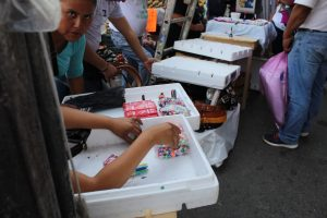 Operativo contra la venta de pirotecnia en el revolución