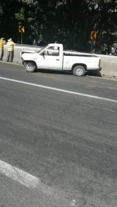 Aparatoso accidente autopista Puebla-Córdoba