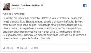 Cuenta oficial de Beatriz Gutiérrez