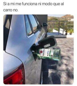 Continúan memes por desabasto de gasolina