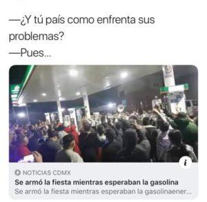 Circulan memes sobre el desabasto de gasolina en redes sociales...