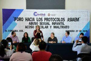Realiza Leticia López Foro hacia los Protocolos Abuso Sexual Infantil Acoso Escolar y Maltrato