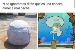 Réplica de cabeza Olmeca en Santiago Tuxtla genera burlas en Veracruz y redes sociales