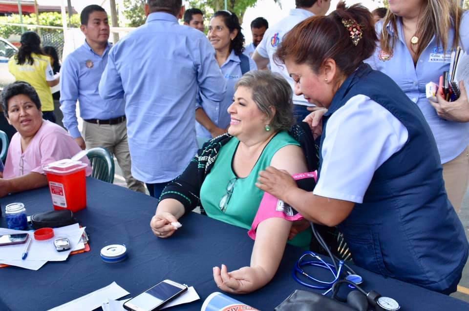 Realizó Leticia López Séptima Jornada de Salud en tu Colonia en Córdoba