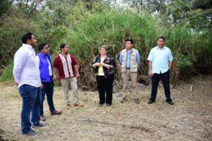 Recorre Leticia López zona arqueológica de Toxpan en Córdoba